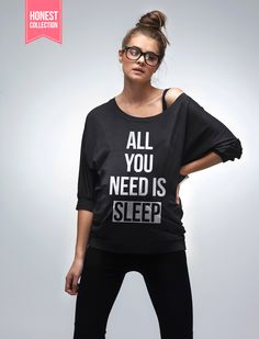 All You Need Is Sleep, Maternity Top // for all the expectant mothers out there