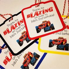 Blaze and the monster machines Party Favors Blaze by DoItAllDiva