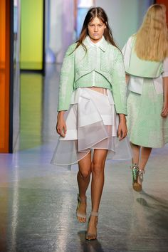 Camille Nzengung - Pleat Savvy | Peter Pilotto #ss14