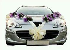 Awesome wedding car decorations ☆