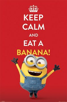 (RE&D) Too cute these Minions. I love bananas too! (RE&D) Despicable Me Minions