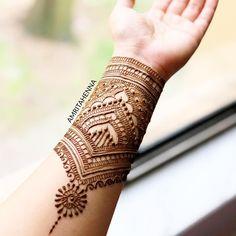 34 Ideas For Tattoo Arm Angel Design Full Hand Mehndi, Hand Henna, Mehendhi Designs, Beautiful Henna Designs, Mehndi Images, Henna Tattoo Designs, Tattoo Ideas, Traditional Tattoo, Traditional Art