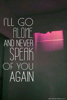 Porter Robinson - Sad Machine - I'll go alone and never speak of you again | By @ThisIsMyReality [Lyrics - Quotes]