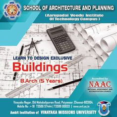 What better than having a real time experience while studying!! Our panel of experts nurture your dream every possible way.  #ArchitectureCollegesinChennai #BArchCollegesinChennai #AVIT #VinayakaMissionUniversity