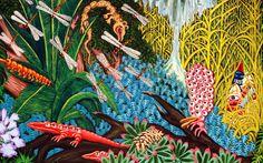 """Expo Peinture Contemporaine: Hervé Di ROSA """"Images et peintures"""""""
