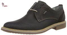 FRETZ men Locarno, Derby homme - Noir - Schwarz (51 noir), 39 1/3 - Chaussures fretz men (*Partner-Link)