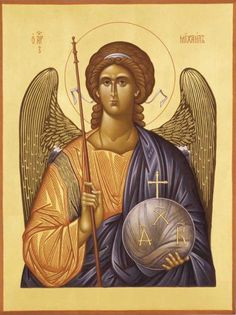 Paul's Episcopal - icon of the Archangel Michael Orthodox Catholic, Catholic Art, Byzantine Icons, Byzantine Art, Faith Of Our Fathers, Church Icon, Russian Icons, Art Carved, Archangel Michael