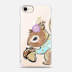 Casetify iPhone 8 Snap Case - KaramfilaS Woodland | The Fashion Squirrel
