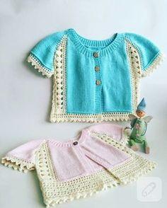 Dantel detaylı örgü bebek yelekleri, cotton iple örülmüş yumuşacık modeller. ilham verici bebek örgüleri, bebek elbiseleri, bebek patikleri, bebek bere ve atkı modelleri...