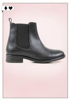 Chelsea Boots Black (Wills Vegan Shoes): Glattes Kunstleder aus Italien. Fair hergestellt in Portugal. Peta approved Vegan. VEGAN/SOCIAL / *100€*