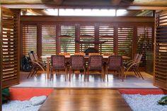 janela persiana de madeira casa - Pesquisa Google