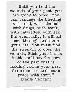 re-pinned! Heal caring for yourself; some people are not good at understanding what you have been through &/or why, know the difference!