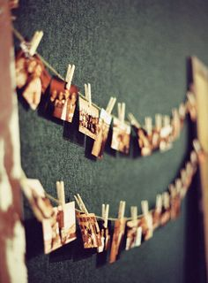 Like this idea for my Wedding Board leading in to the reception hall