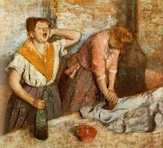Repasseuses / Degas