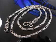 Catawiki online auction house: 925 silver necklace - 55 cm