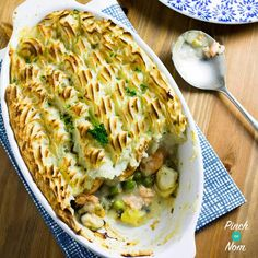 If it swims it slims is most certainly my mantra when following the Slimming World Extra Easy plan. So this Syn Free Fish Pie is perfect - just so tasty.