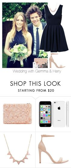 """""""Wedding with Gemma and Harry"""" by reasongirl ❤ liked on Polyvore featuring Aéropostale, Zara, TFNC, OneDirection, harrystyles, wedding, onedirectionoutfits and gemmastyles"""