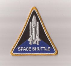 Nasa Space Shuttle Patch Prop by NexusEnterprising on Etsy, $7.99 Nasa Space, Patch Design, Space Shuttle, Seals, Badges, Patches, Etsy, Stamps, Harbor Seal