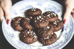 Salted Lavender Chocolate Buckwheat Cookies Recipe (Gluten-Free)
