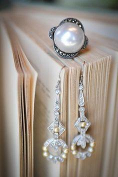 Blue Glazed Ceramic Round Earrings on Sterling Silver Fiona Dane Jewellery