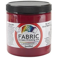 Speedball Art Products Fabric Screen Printing Ink, 8-Ounce, Process Magenta Review