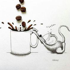 """"""" Segunda-feira é mais difícil porque é sempre a tentativa do começo de vida  nova. Façamos cada domingo de noite um réveillon modesto pois se meia-noite de domingo não é começo de ano novo é começo de semana nova o que significa fazer planos e fabricar sonhos. """"  Clarice Lispector  Então já que é segunda-feira depois do café me expresso!!! @OlhardeMahel @apredart #ClariceLispector #citação #ilustração #planejamento #ilustrador #café #imagem #segundafeira #bomdia #boasemana #caféexpresso…"""