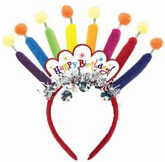 Birthday Candle Headband Party Accessory for only $6.67 You save: $5.82 (47%)