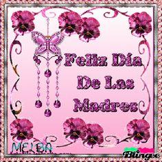 Imagenes Gif De Flores Con Mensajes Para las Mamas