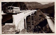 Rodovia ANCHIETA (SP Antigamente) 1955 Princiapal ligação da Cidade ao Litoral Paulista