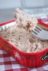 Rillettes of sardines with Laughing Cow, Jean-François Piège way - - Seafood Appetizers, Seafood Recipes, Appetizer Recipes, Snack Recipes, Food Porn, Chefs, Appetisers, Dinner Rolls, Healthy Dinner Recipes