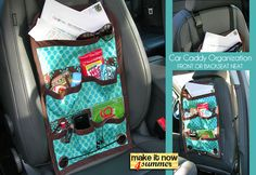 Make it Now 4 Summer: Car Trip Seat Caddy | Sew4Home