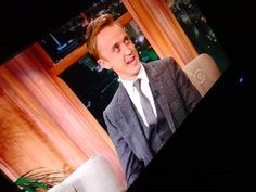 MY BABY ON THE LATE LATE SHOW!!! @Tom Felton http://twitter.com/Danielle_Alida/status/463556235217080321/photo/1