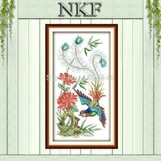 Find More Sewing Tools & Accessory Information about Phoenix flower bird DMC 14CT 11CT Needlework Kits Embroidery Sets NKF Cross Stitch Counted Print on canvas decor painting crafts,High Quality Sewing Tools & Accessory from NKF Cross Stitch International Trade Co., Ltd on Aliexpress.com