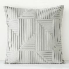 Oake Polaris Felt Decorative Pillow, 22 x 22 (545 ARS) ❤ liked on Polyvore featuring home, home decor and throw pillows