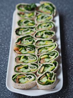 Veggie Recipes, Veggie Food, Chicken Tacos, Food Inspiration, Tapas, Zucchini, Buffet, Picnic, Appetizers