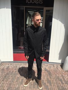 Timo in lost and Found and Rick Owens