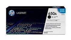 HP 650A (CE270A) Black Original Toner Cartridge