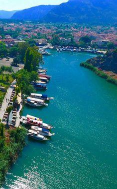 Köyceğiz /Muğla Visit Turkey, Turkey Photos, Beautiful Places In The World, Antalya, Amazing Destinations, Nice View, Places To See, Travel Inspiration, Nature Photography