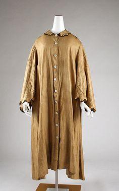 1870 Coat Culture: American Medium: linen