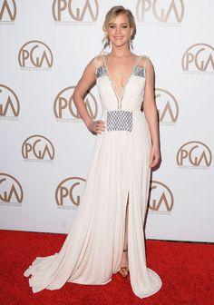 Jennifer Lawrence at the Producers Guild Awards