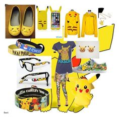 """Pikachu"" by hannahcollins-3 on Polyvore"