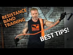If you're looking to incorporate resistance bands into your workouts, then you don't want to miss this video. If you're looking for resistance bands or resis. Resistance Band Training, Best Resistance Bands, Resistance Band Exercises, Trx Training, Resistance Workout, Polymetric Workout, At Home Workouts, Band Workouts, Fitness Workouts