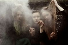 the three witches Wiccan, Witchcraft, Dark Tales, Three Witches, Teen Witch, Which Witch, Mystery, Season Of The Witch, Witch Aesthetic