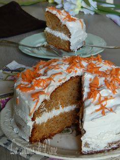 torta di carote ..