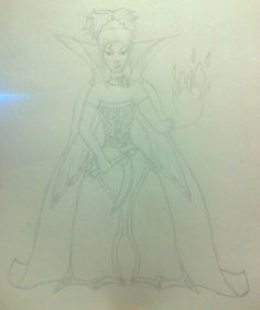 another one of my own designs, princess of he underworld