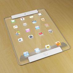 New Transparent iPad Concept