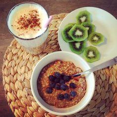 IMG_3158 Nom Nom, Oatmeal, Breakfast, Food, The Oatmeal, Morning Coffee, Rolled Oats, Essen, Meals