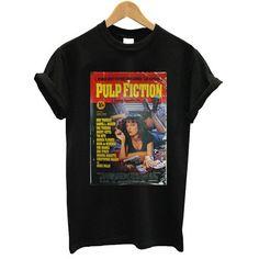 Pulp Fiction Poster T shirt – newgraphictees