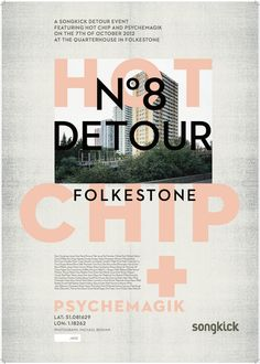 One off Hot Chip poster
