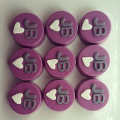 Justin Beiber Chocolate Covered Oreos